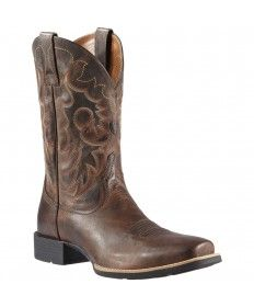 03bf83cd6797f 10011787 Men s Heritage Reinsman Western Ariat Cowboy Boots Square Toe