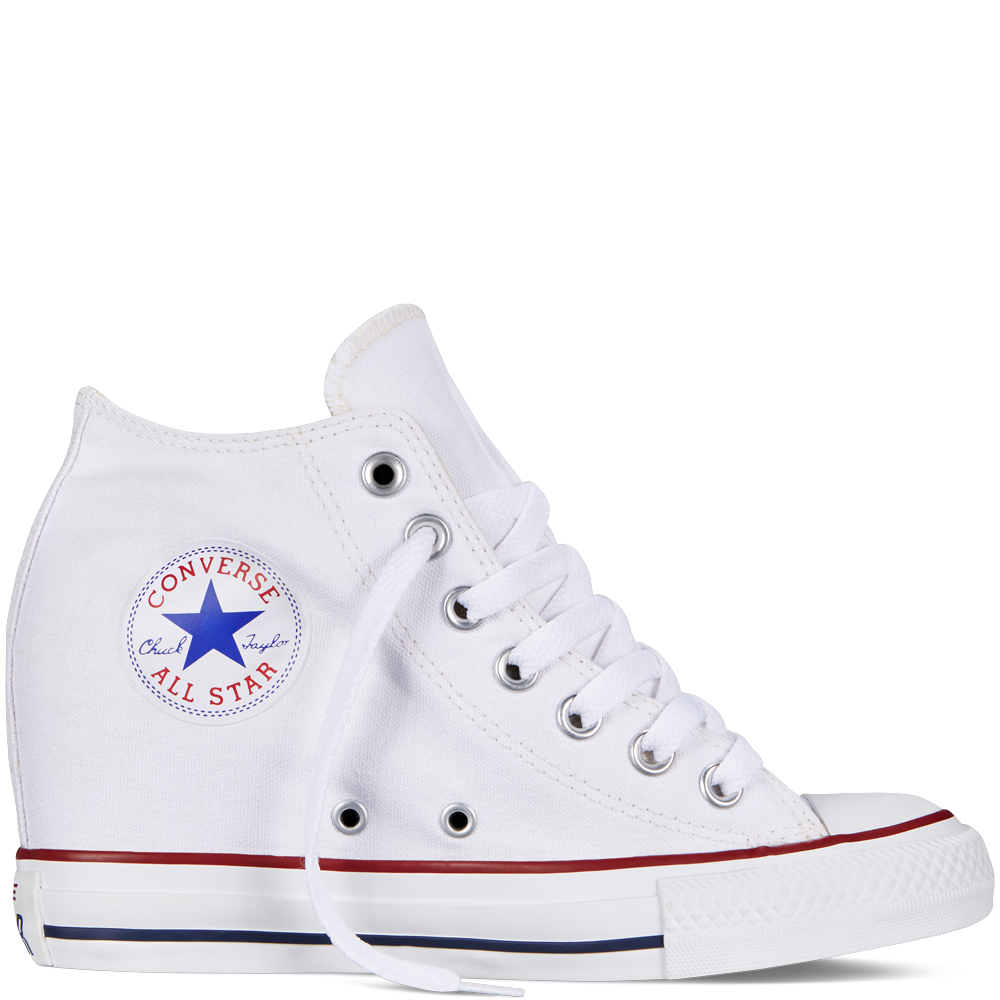 Chuck Taylor All Star Lux Wedge white. Totally using these