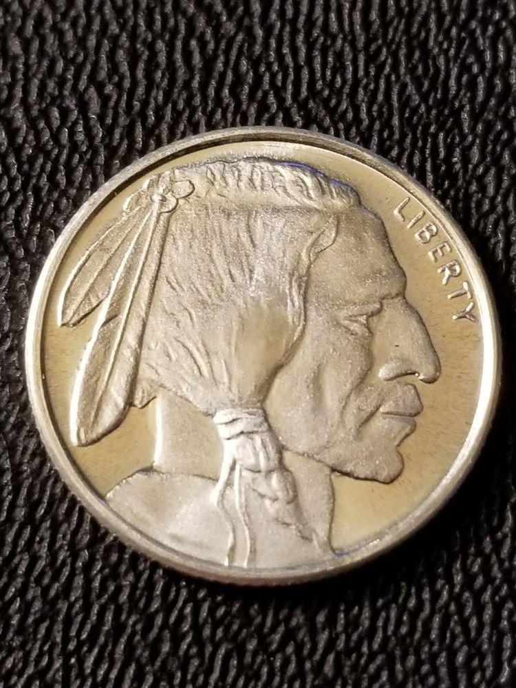 1 10 Oz Buffalo Fractional Silver Bullion Round 999 Fine Silver Bullion Bullion Silver