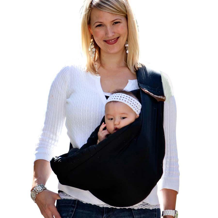Peanut Shell Adjustable Baby Sling Black Babiesrus Australia