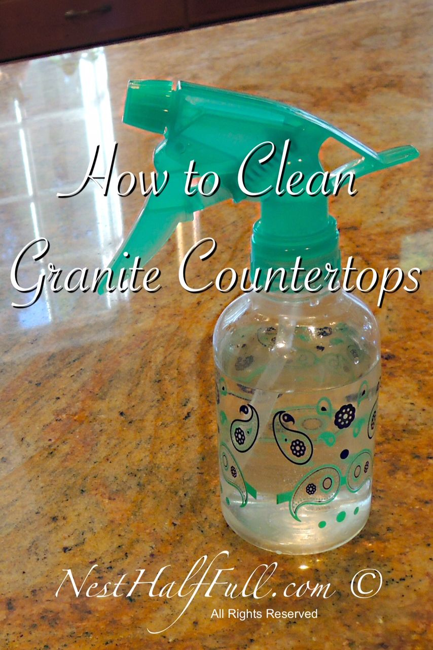 Normally, White Vinegar Is My Go To Cleaner. I Use It For Almost Every  Cleaning Job In The House. So, How Should I Clean My Granite Countertops?