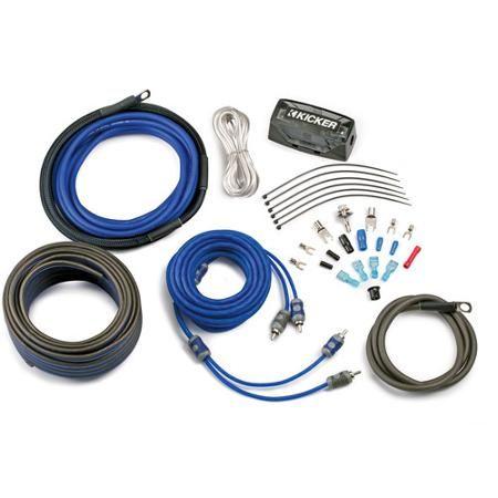 Kicker Complete 4 Gauge Amp Kit Walmart Com Kicker Car Audio Car Audio Car Audio Systems