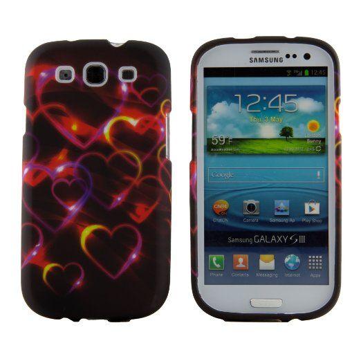 new style 86e97 9ed59 Amazon.com: Colorful Hearts Design Hard Case Cover for Samsung ...