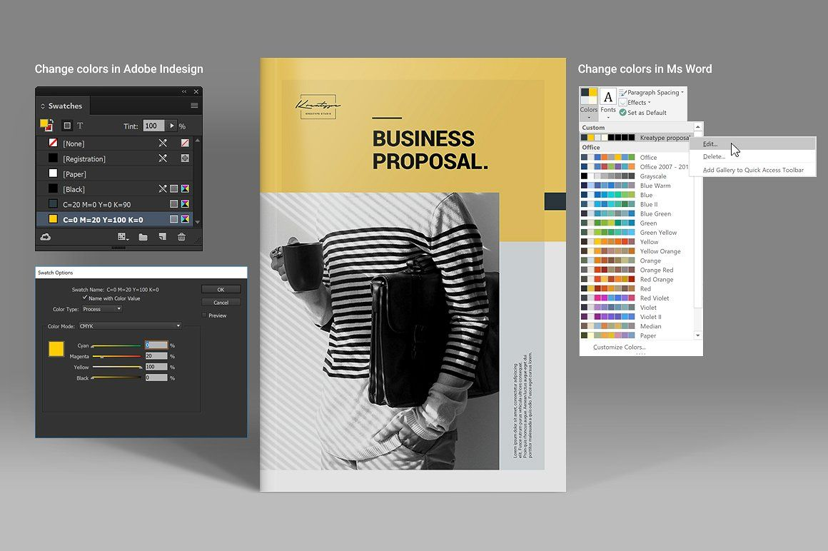 How To Change The Color Of A Page In Indesign