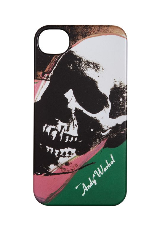 incase Andy Warhol iPhone 4 Skull Snap Case