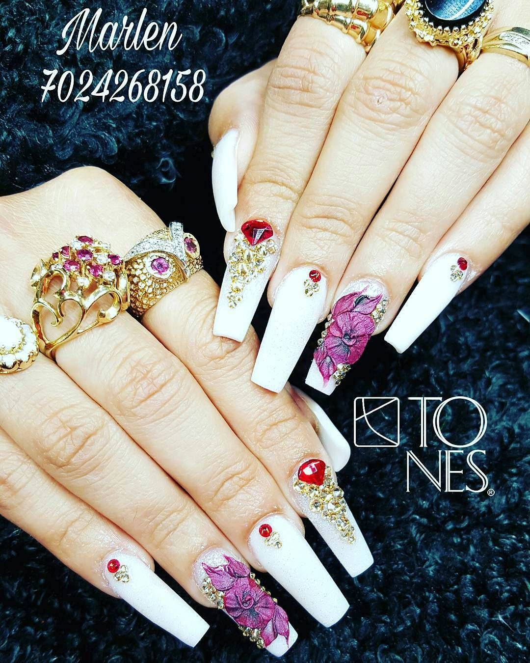Amazing nail art made using tones products tones nail art amazing nail art made using tones products prinsesfo Gallery