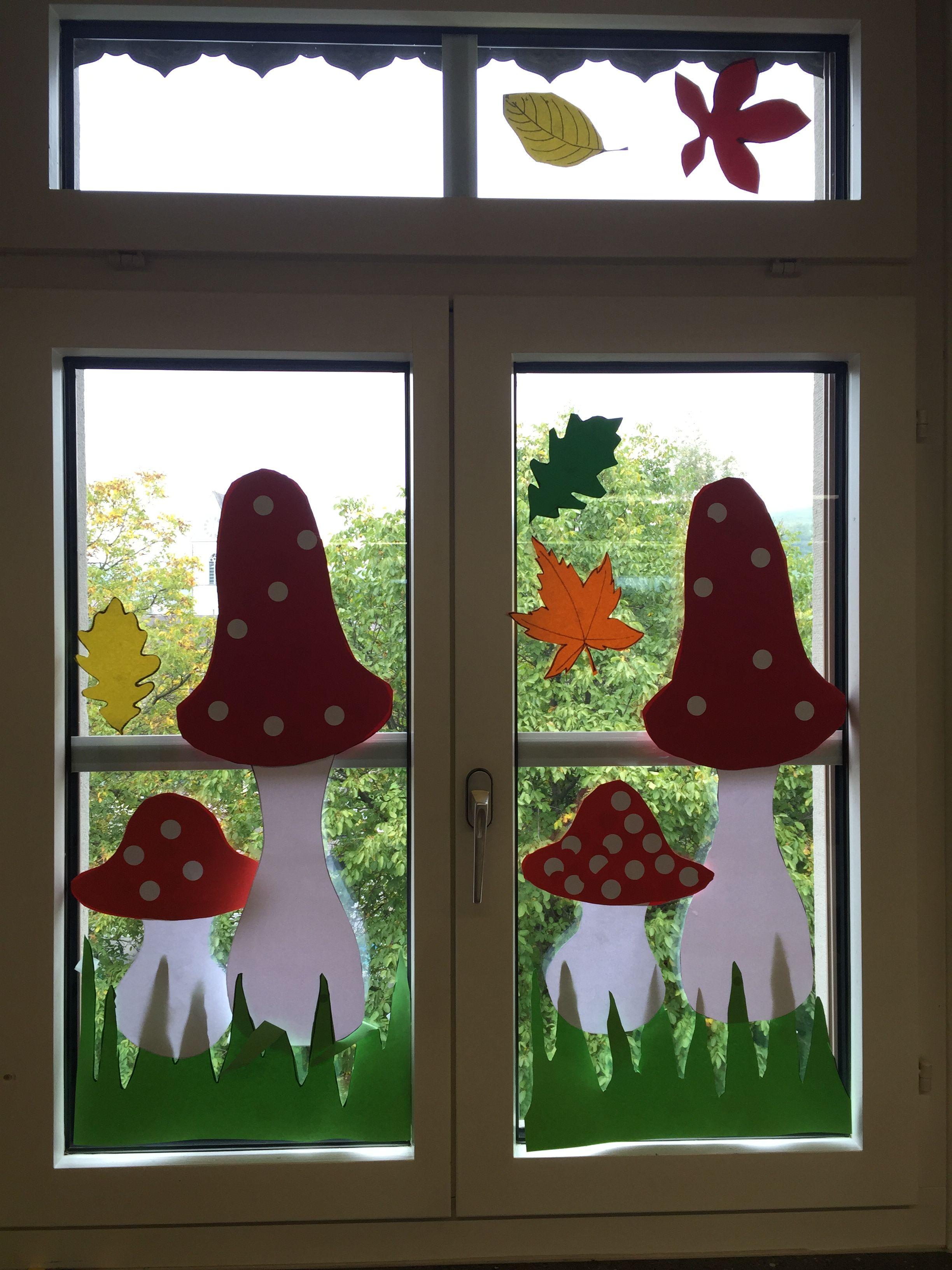 Pin Von Wilma Drost Auf Autumn Fensterbilder Herbst
