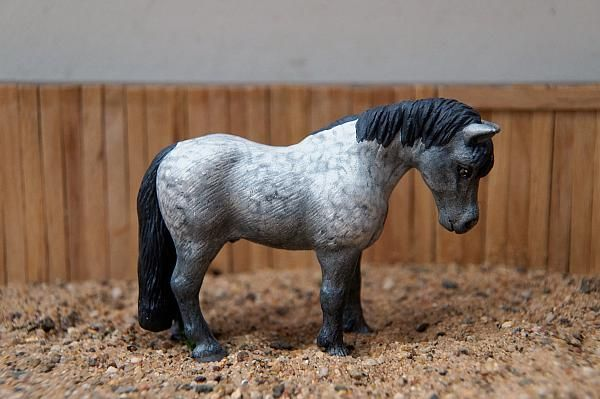Custom Schleich Pony By Hakuna Matata Studio Model Horse
