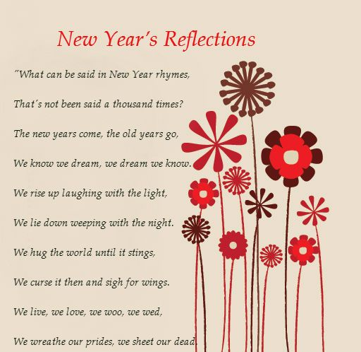 New Year Poems And Quotes | Happy New Year Poem | Poems | Pinterest ...