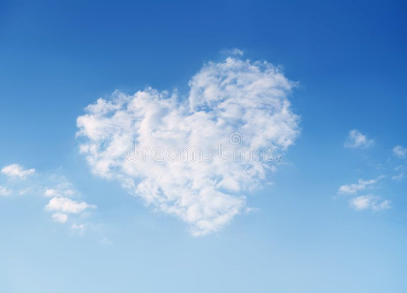 Sky Of Love Heart Shaped Cloud On Beautiful Blue Sky Ad Heart Shaped Sky Love Blue Ad Blue Sky Clouds Sky And Clouds Clouds