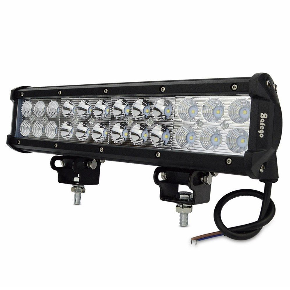 12inch Led Light Bar 24pcs 3w High Intensity Leds Led Bar Best Price Oempartscar Com Led Light Bars Led Lights Off Road Led Lights