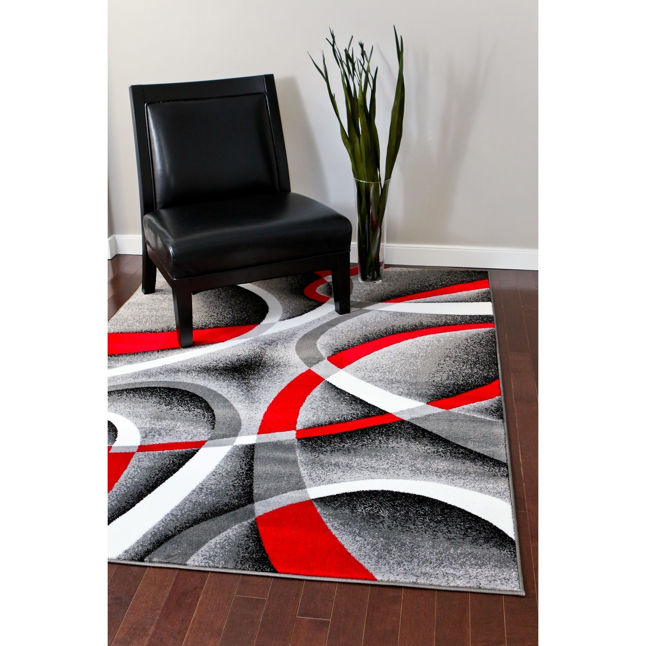 Persian Rugs Modern Trendz Collection Grey Rug 7 10 X 10 2 Gray