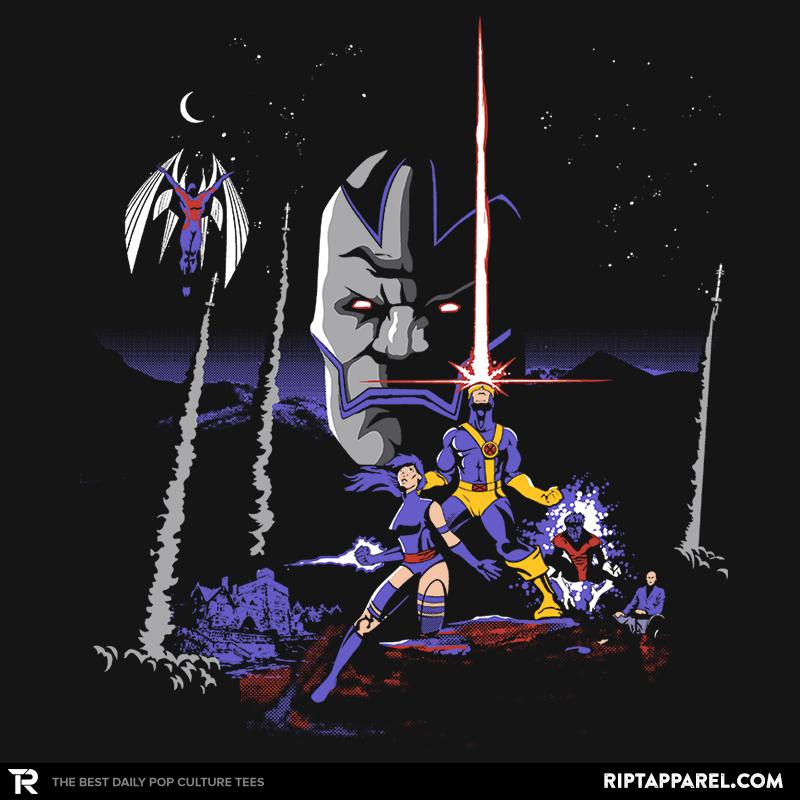 Mutant Wars Apocalypse T Shirt The Shirt List Ript Apparel Comic Books Art Marvel Xmen