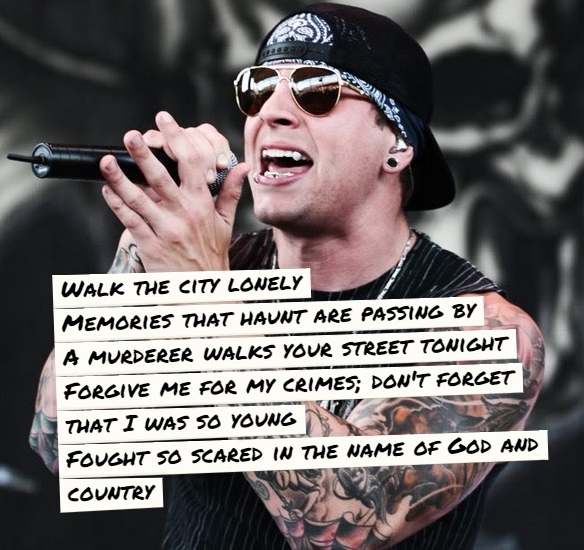 M I A  - Avenged Sevenfold One of my favorite songs! | My