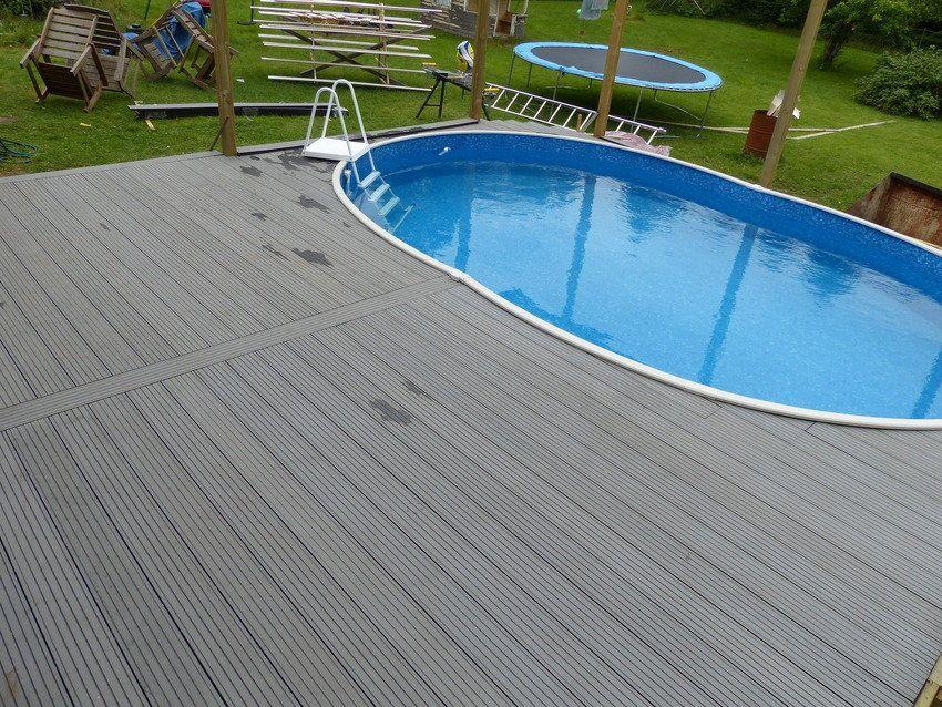 marine decking plastic composite material Outdoor tiles