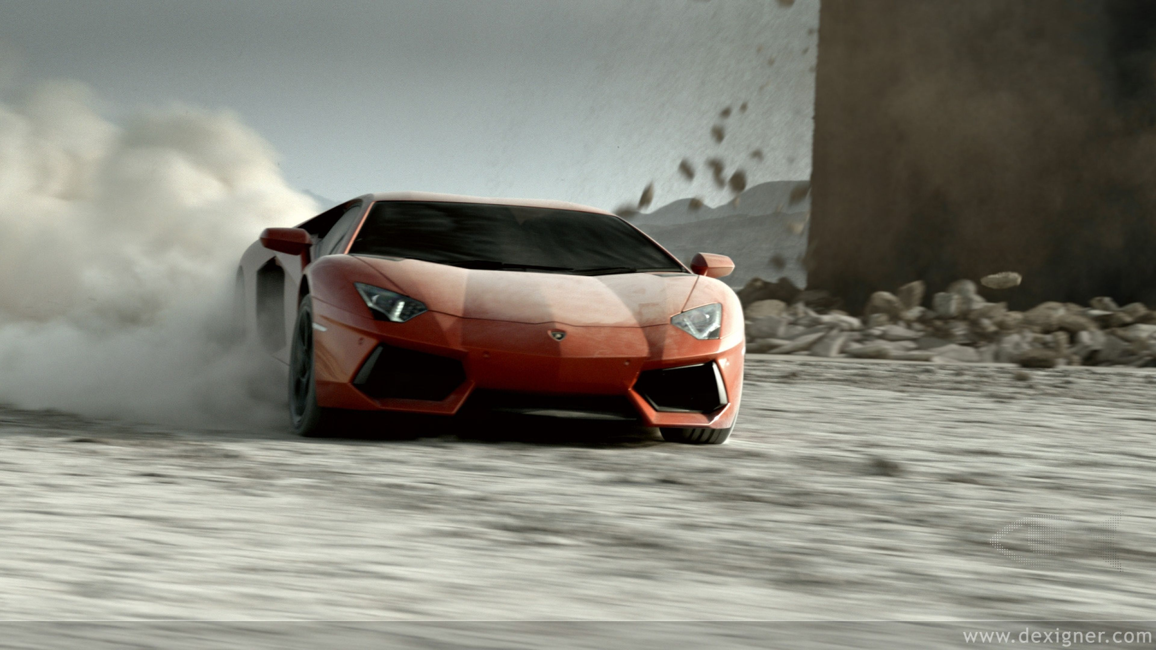 Amazing Lamborghini Aventador V12 Ultra HD 4K Wallpapers