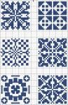 Possible patterns for biscornu