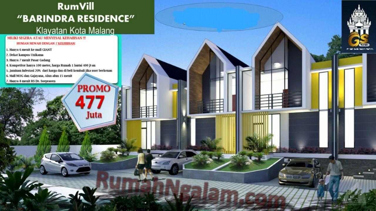 Rumvill Barindra Residence Sukun Kota Malang Miliki Segera Atau Menyesal Dikemudian Hari Hunian Mewah Dengan 7 Kelebihan 1 Hanya 6 Menit Rumah Kemewahan Kpr