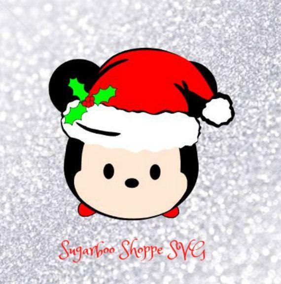 Christmas Mickey Santa Svg Disney Tsum Tsum Christmas Svg Etsy Tsum Tsum Christmas Tsum Tsum Coloring Pages Tsum Tsum