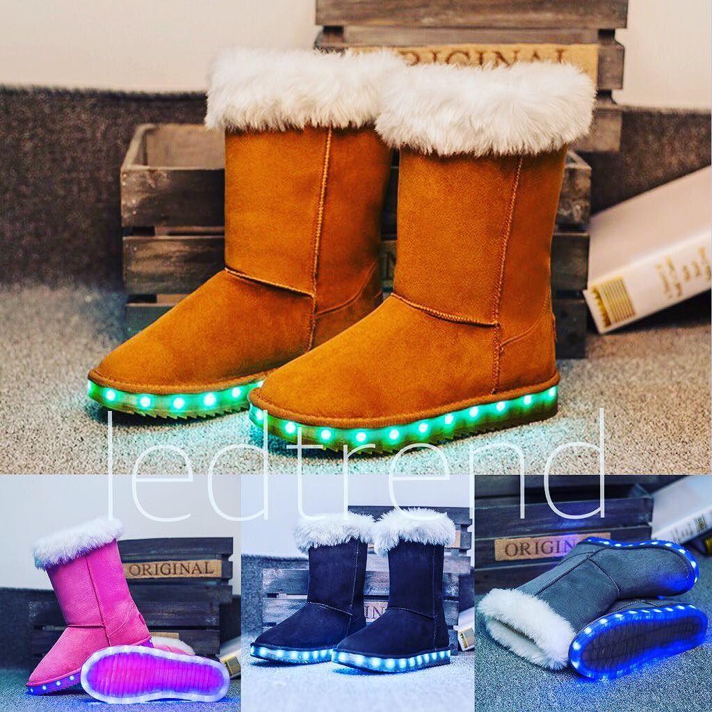 Gjør deg klar for vinteren si velkommen til LED Uggs. Noen