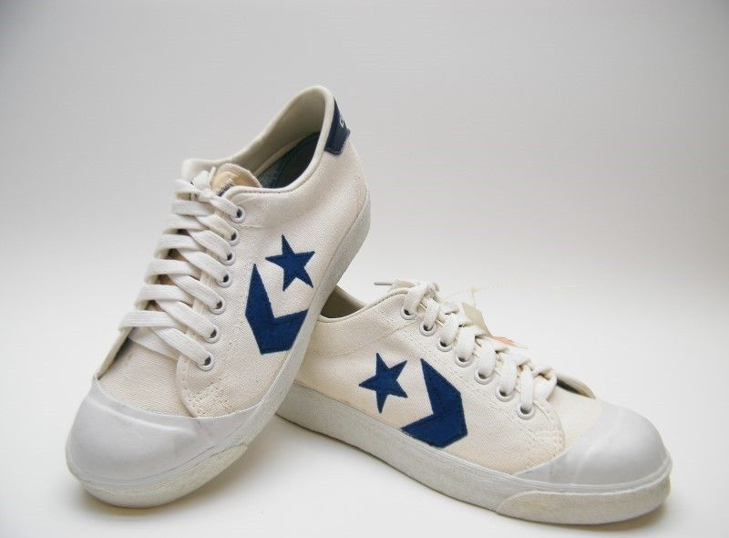 d2a9e35a9f41c3 NEW MENS VINTAGE USA MADE CONVERSE ONE STAR CANVAS WHITE TENNIS SHOES SZ  6.5~1 2  Converse  AthleticSneakers