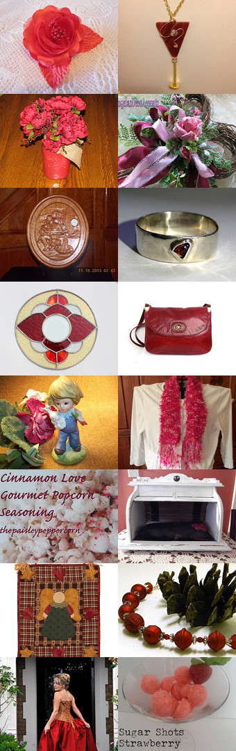 ♥ ♥ ♥ Everything just For you ♥ ♥ ♥ by NATALIA KH on Etsy, A treasury full of Valentine's day-insipired goodies! #valentines #red #gifts