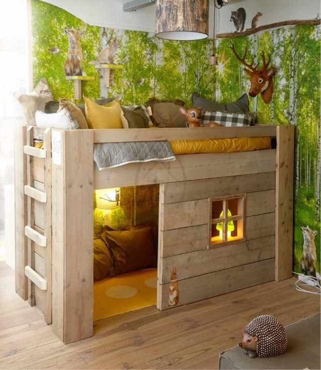 Coole Holzbett-Designs von Saartje Prum #hausdekoration