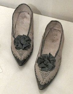 Male shoes... early 19th century France