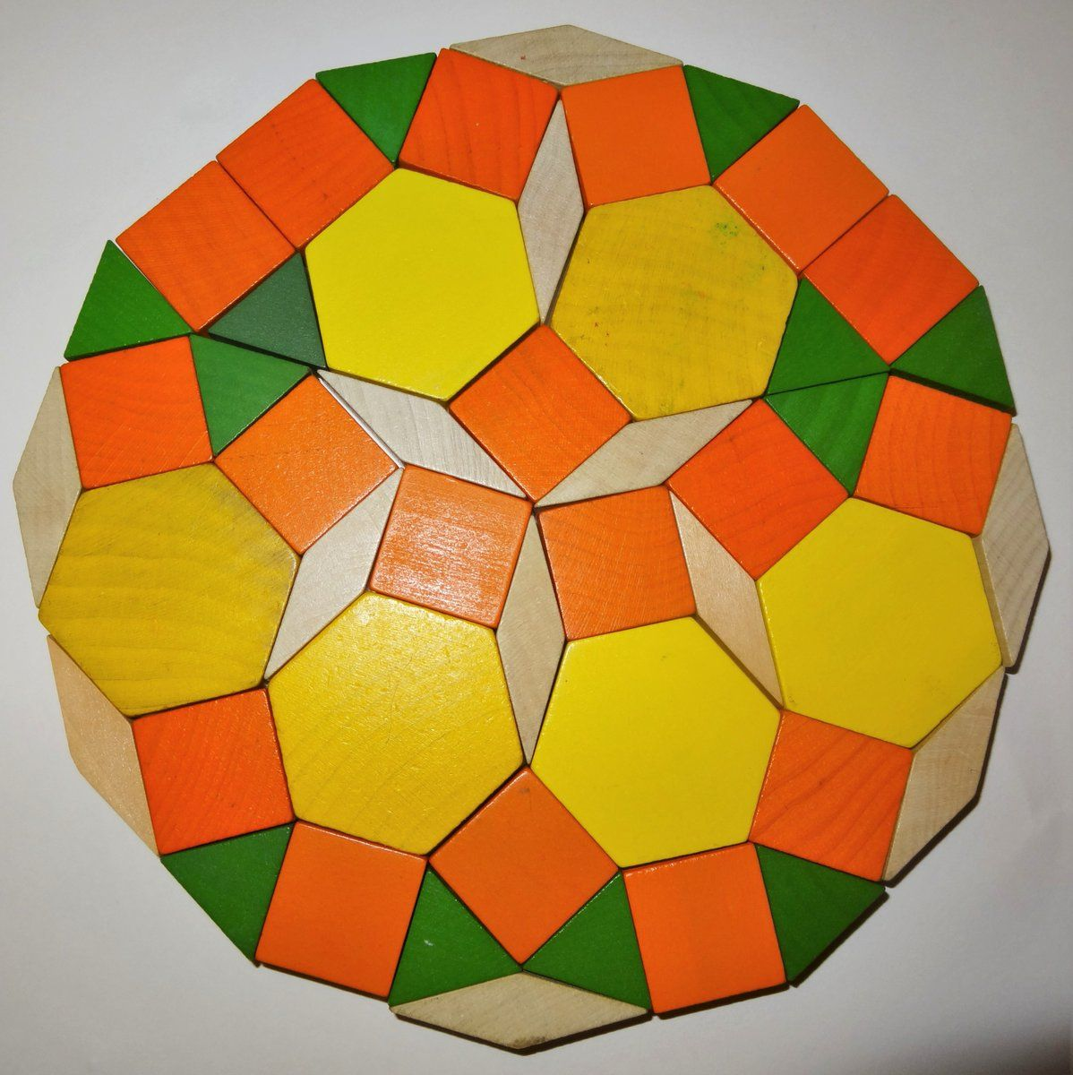 Pattern Block Dodecagons  WwwMathedpageOrg
