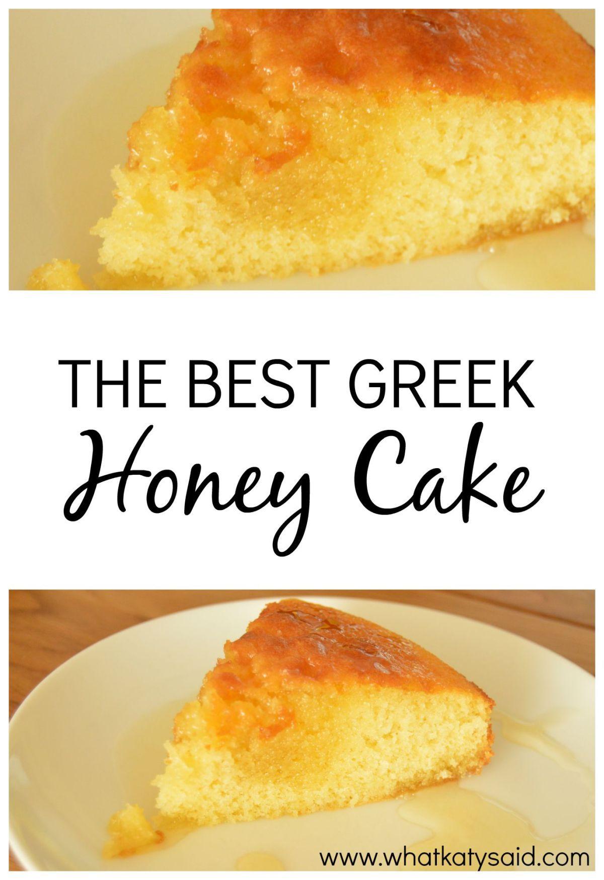 Greek Honey Cake #honeycake