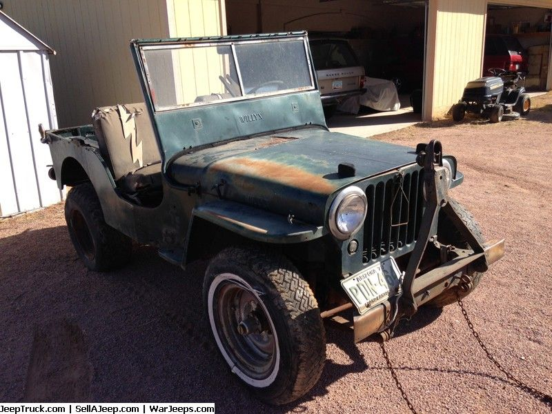 Military Jeeps For Sale And Military Jeep Parts For Sale 1946