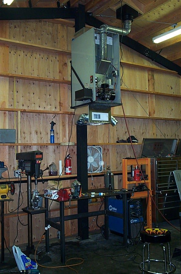 Heating My Shop With Used Motor Oil The Garage Journal Board