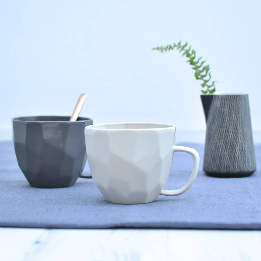 Geometric Cup | 1 | Pinterest | Cups, Interior plants and Ware FC