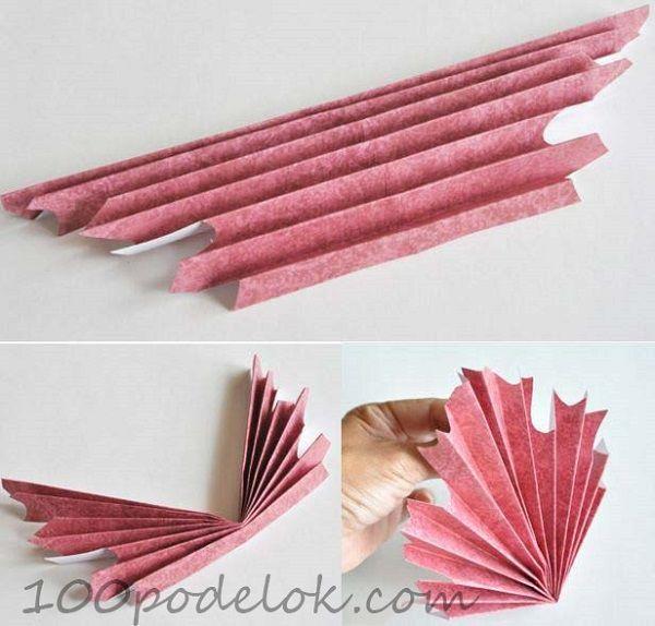 осенние листья из бумаги | Осенние поделки своими руками ...