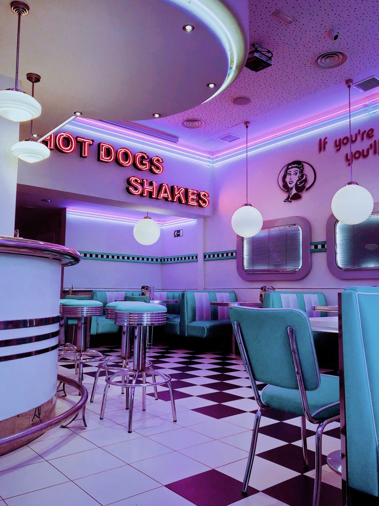 Pin By Kelly29grant4 On Diner In 2020 Diner Aesthetic Retro Wallpaper Neon Aesthetic