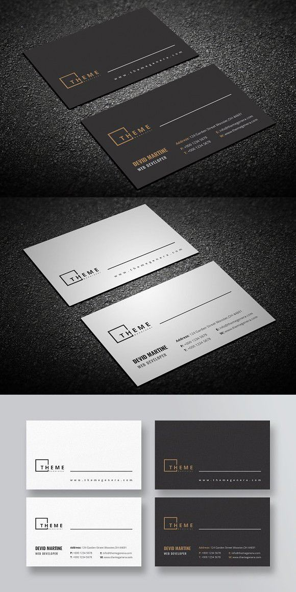 Business Card Businesscard Cleanbusinesscard Grafici E