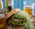 Umami Turkey Rosemary Burgers with Avocado