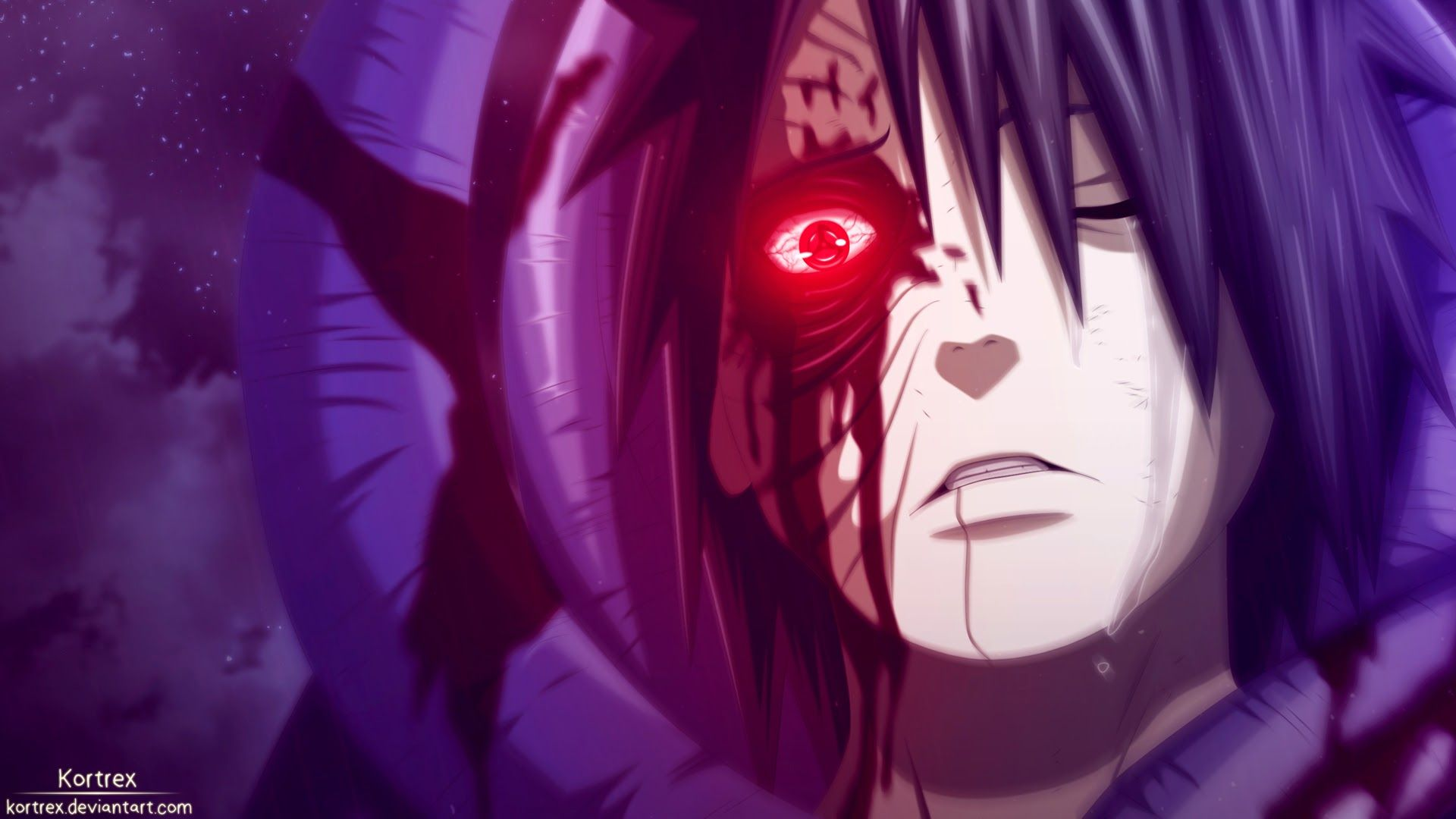 Obito Sharingan Eyes 7s Wallpaper HD Naruto e sasuke