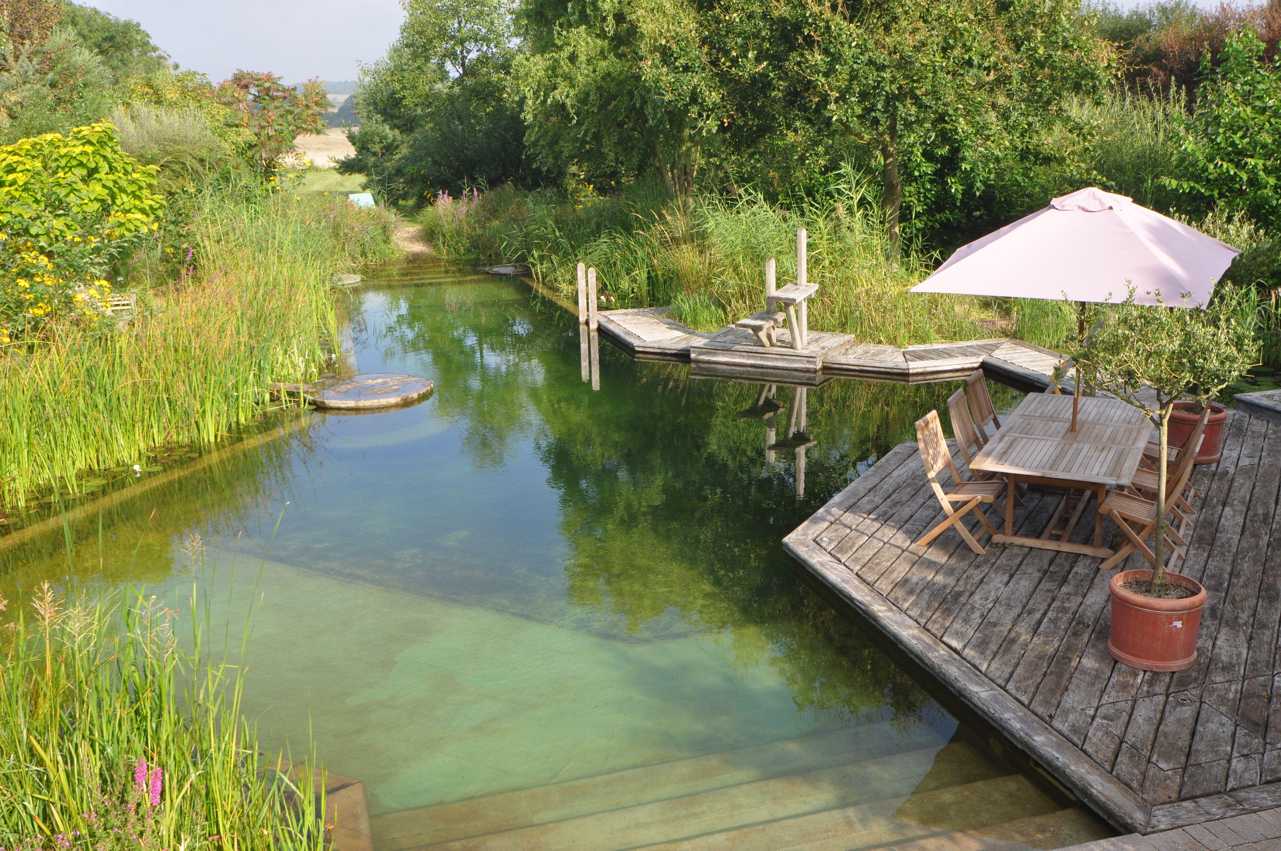 Natural Swimming Pool By Woodhouse Natural Pools More Pool  ~ Como Construir Una Piscina Natural