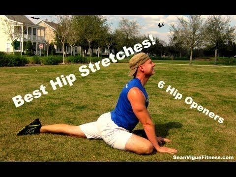 yoga hip stretches  6 stretches to open your hips sean