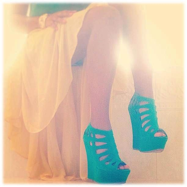 Cage Style Wedges, California Dreaming by Lola Shoetique $35.00