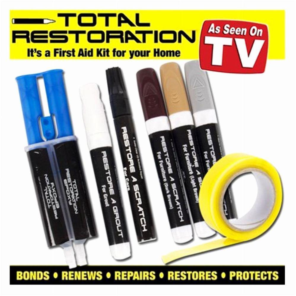 Leather Repair Kit Car Scratch Furniture Tears Rips Burns