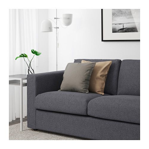 Manta Sofa Ikea.Vimle Loveseat Gunnared Medium Gray Apartment Shopping In