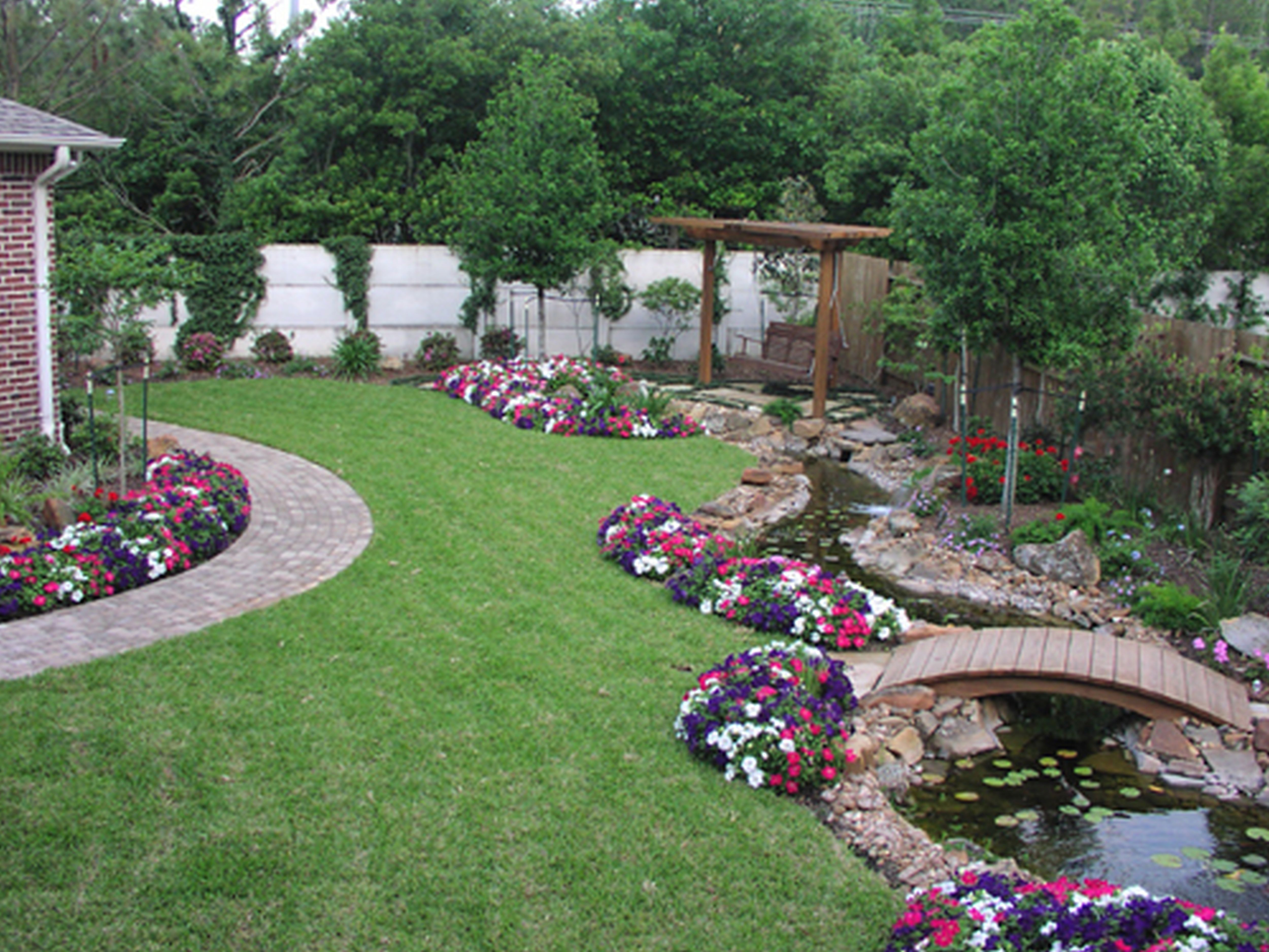 tiered flower beds - Google Search  Backyard landscaping, Home