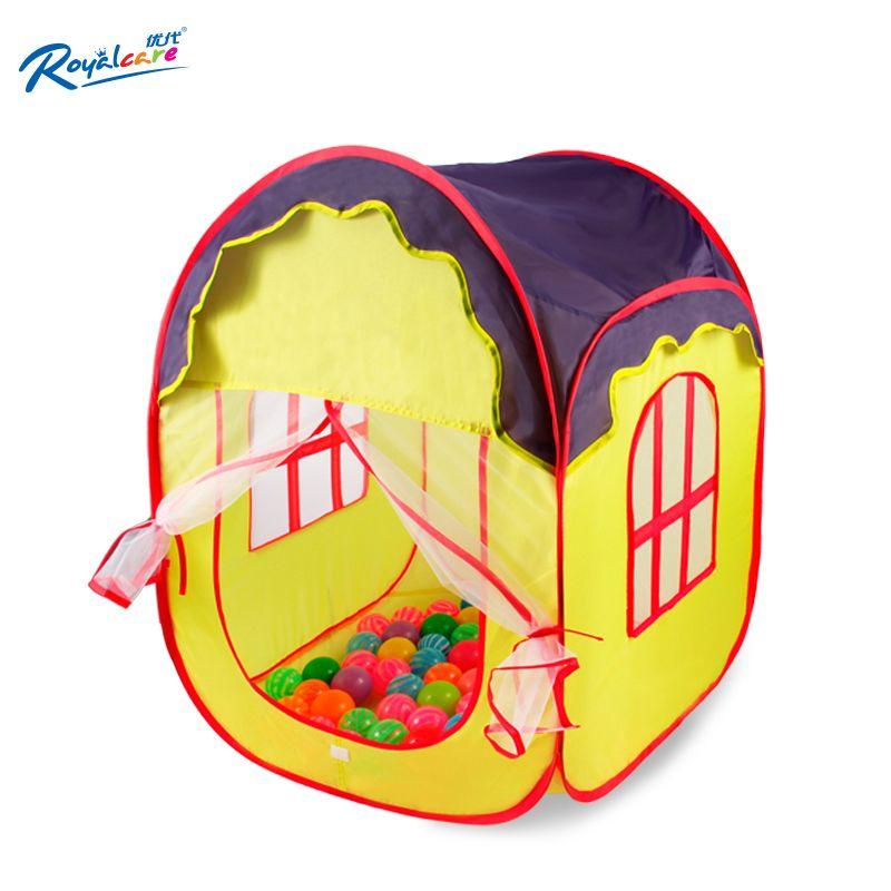 Royalcare63 * 63 * 86 cm blue portable Teepee folding tent baby children outdoors  sc 1 st  Pinterest & Royalcare63 * 63 * 86 cm blue portable Teepee folding tent baby ...