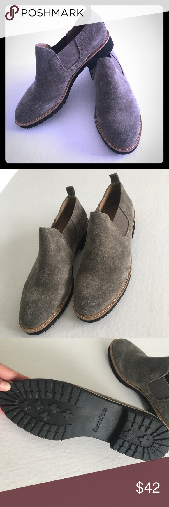 2a00dc1237d6 New franco sarto cole booties brand new with box franco png 580x1740 Franco  sarto rubber soles