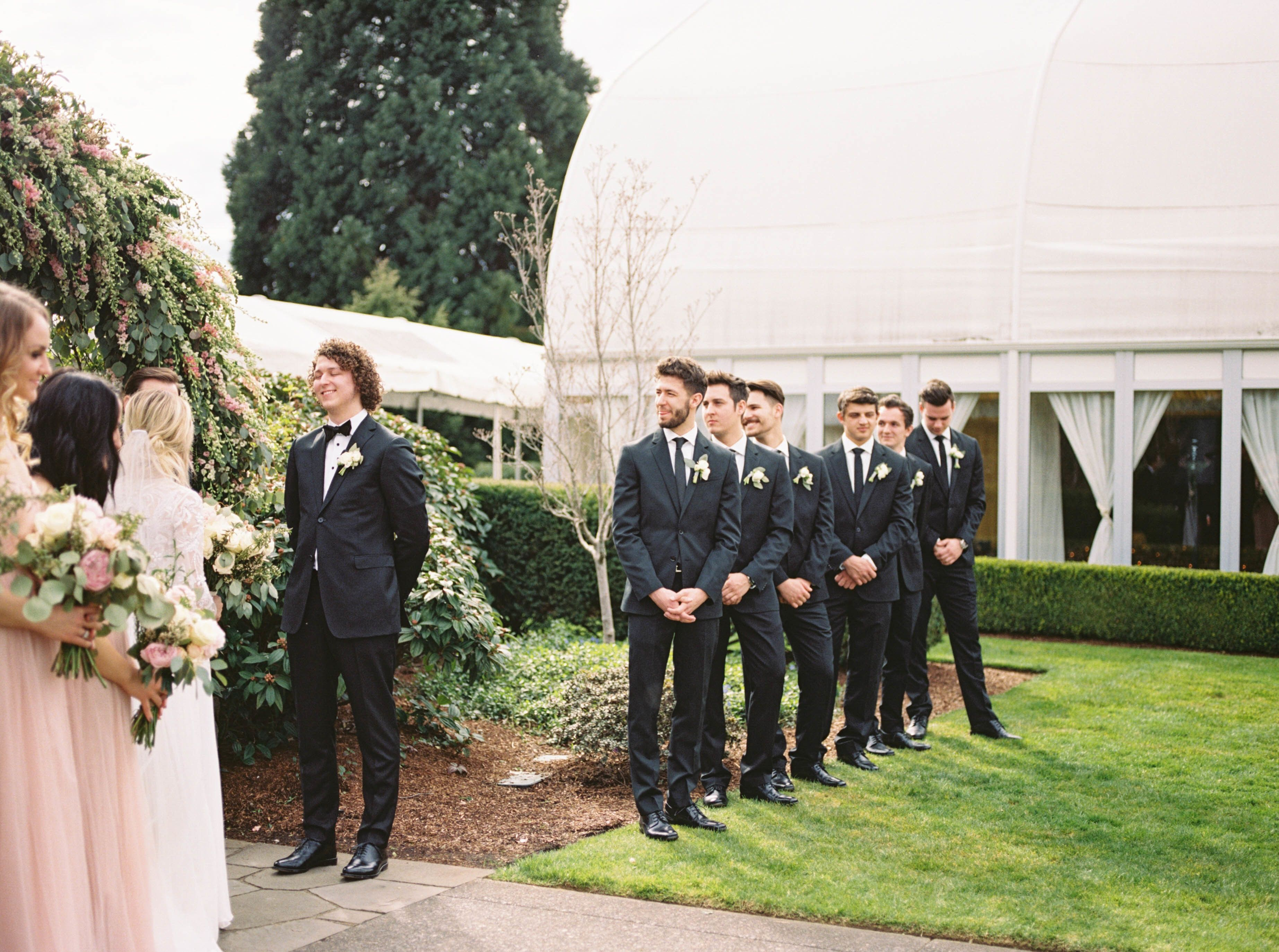 This black tie wedding is filled with every trend youull see this