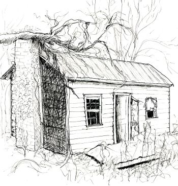 old house drawing - Google Search   House drawing, Barn ...
