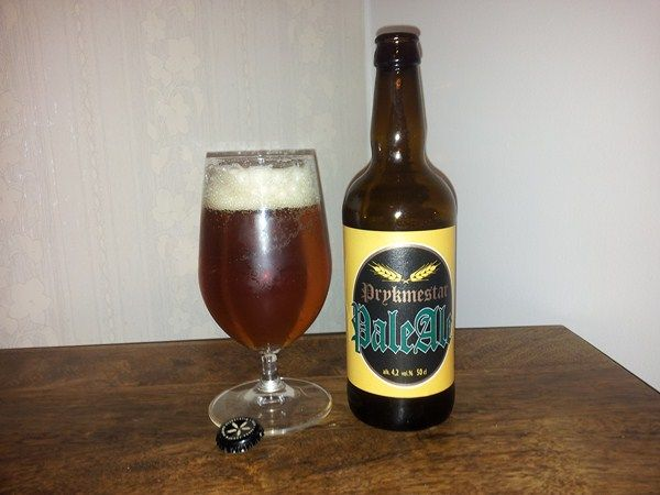 Vakka-Suomen Panimo Prykmestar Pale Ale 4,2% pullo