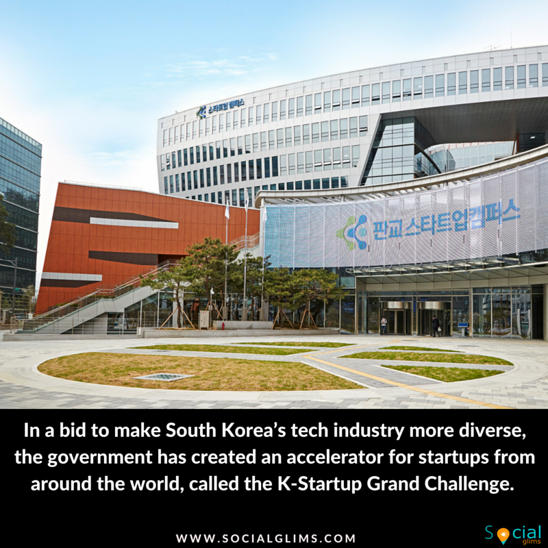 South Korea's government launches its first accelerator